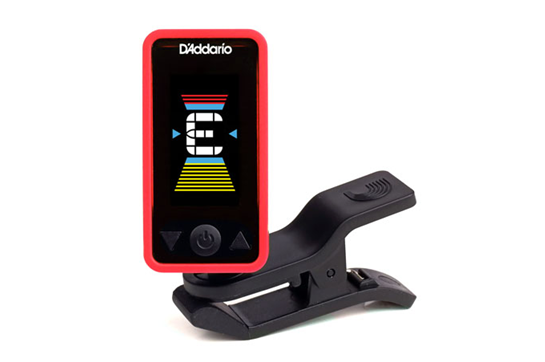 D'Addario Eclipse Tuner - Red