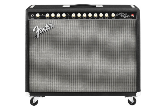 Fender Super Sonic Twin Guitar Amp (Black/Silver)