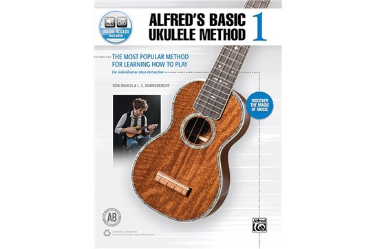 Alfreds Basic Ukulele Method 1 w/Audio