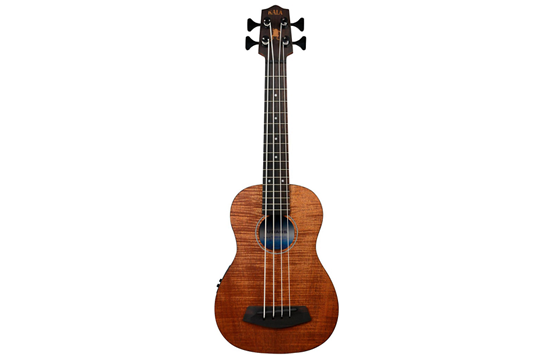 Kala Acoustic Electric U-Bass Ukulele (Exotic Mahogany)