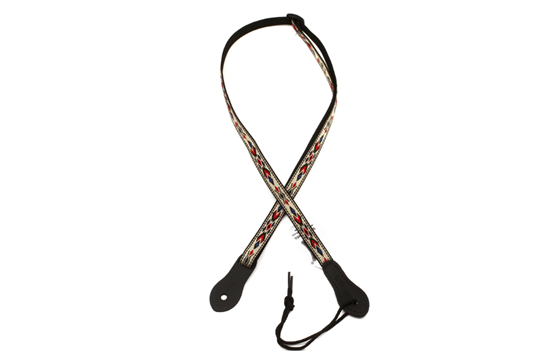 Levy's Henderson Series Ukulele Strap (White/Red)