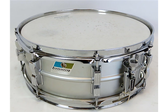 Used Ludwig 5x14 Acrolite 1960's Aluminum Snare