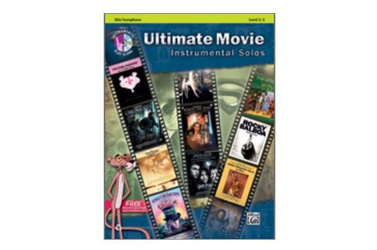 Ultimate Movie Instrumental Solos - Alto Sax