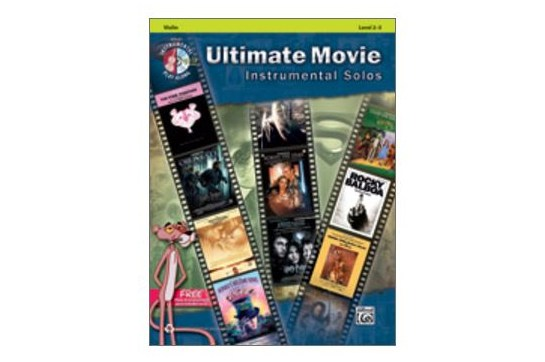 Ultimate Movie Instrumental Solos for Strings (Cello)