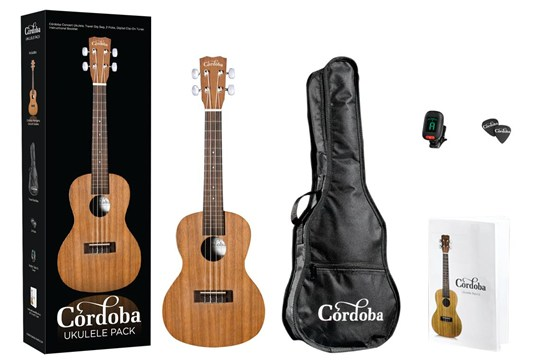 Cordoba UP100 Ukulele Pack