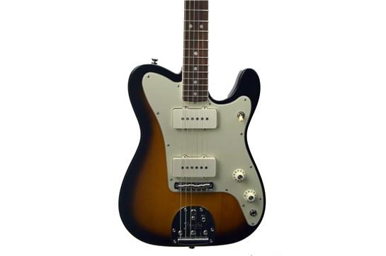 Used 2018 Fender Parallel Universe Jazz Telecaster (2 Color Sunburst) w/OHSC