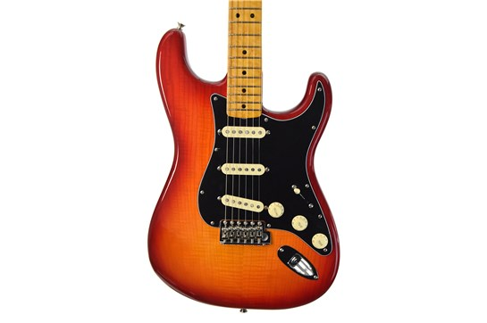 Fender Rarities Series Flame Ash Top American Original '60s Strat (Plasma Red Burst)
