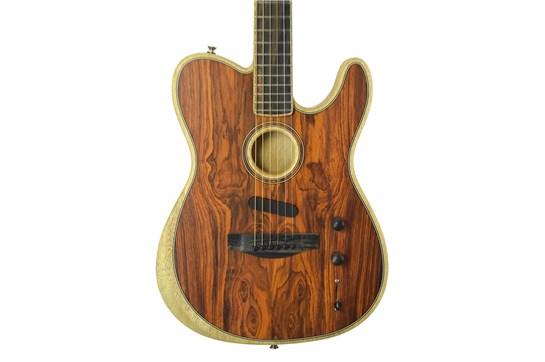 Used Fender American Acoustasonic Telecaster - Exotic Cocobolo