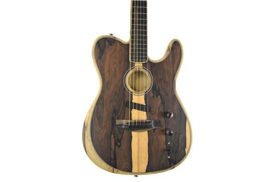 Fender American Acoustasonic Telecaster - Exotic Ziricote