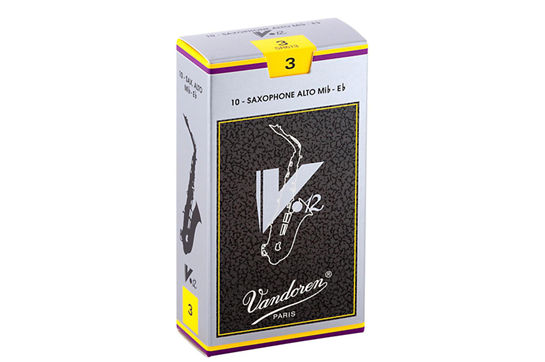 Vandoren V12 Alto Saxophone Reeds Strength 3 (Box of 10)