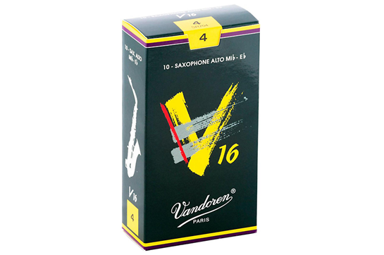 Vandoren V16 Alto Saxophone Reeds Strength 4 (Box of 10)
