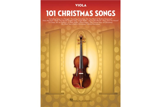 101 Christmas Songs (Viola)