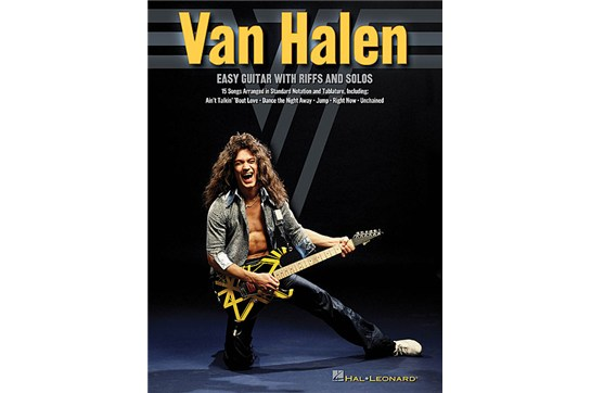 Van Halen Easy Guitar with Riffs & Solos