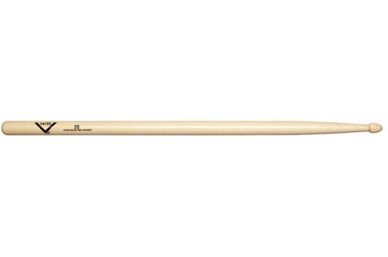 Vater 5B Hickory Wood Tip Drumsticks
