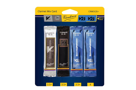 Vandoren Bb Clarinet Reeds Mix Pack Strength 3.5 Plus