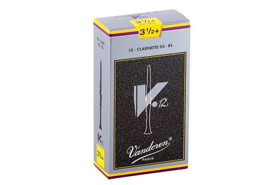 Vandoren V12 Bb Clarinet Reeds  Strength 3.5 Plus (Box of 10)