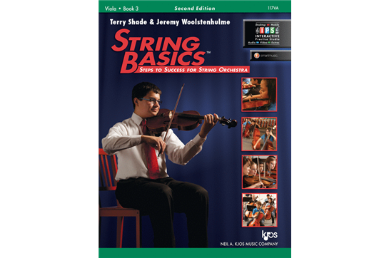 String Basics - Viola Book 3