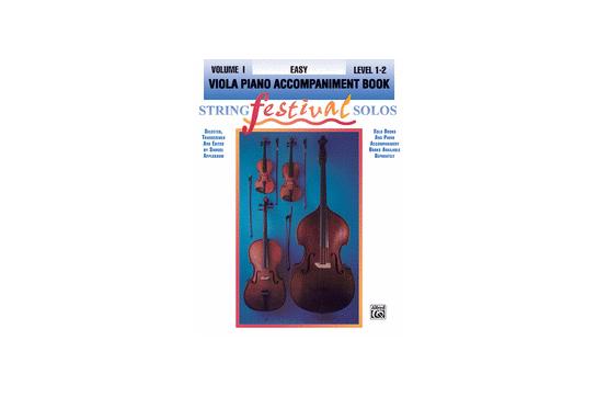 2211C6ACC, String Festival Solos Viola 1