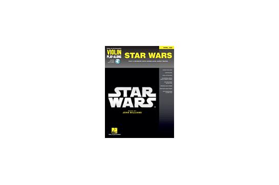 Star Wars Violin Play Along Volume 62