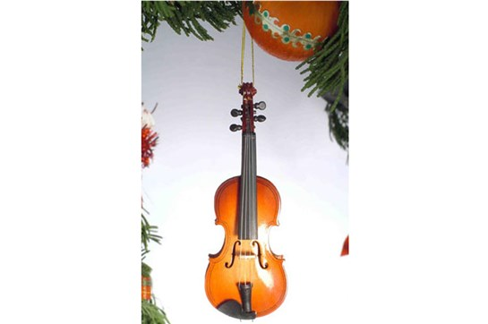Broadway Gifts Violin Ornament