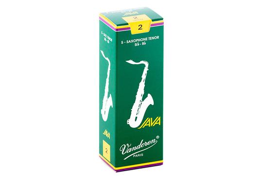 Vandoren Java Tenor Saxophone Reeds Strength 2 (Box of 5)