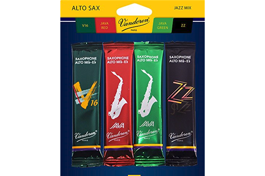 Vandoren Alto Saxophone Jazz Reed Mix Pack Strength 3