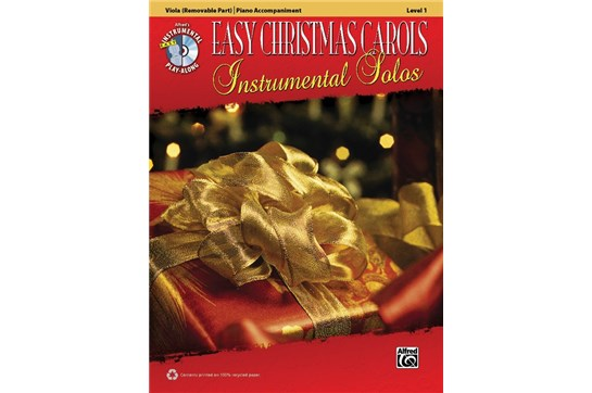 Easy Christmas Carols Level 1 w/CD (Viola)