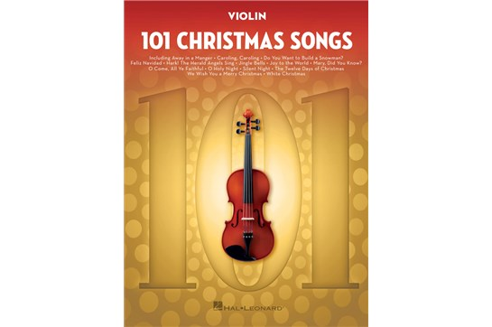 101 Christmas Songs (Violin)