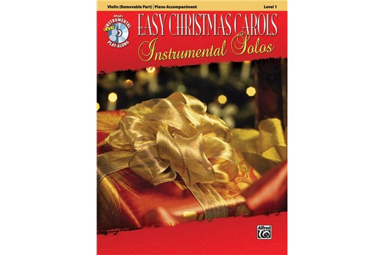 Easy Christmas Carols Level 1 w/CD (Violin)