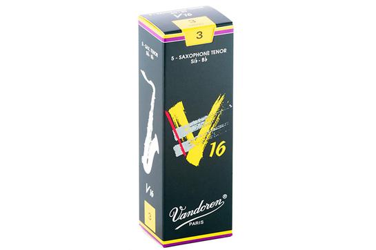 Vandoren V16 Tenor Saxophone Reeds Strength 3 (Box of 5)