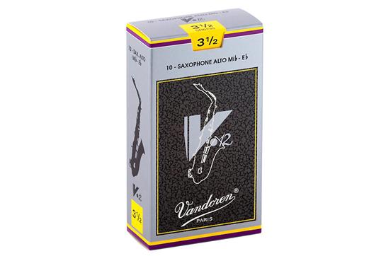 Vandoren V12 Alto Saxophone Reeds Strength 3.5 (Box of 10)
