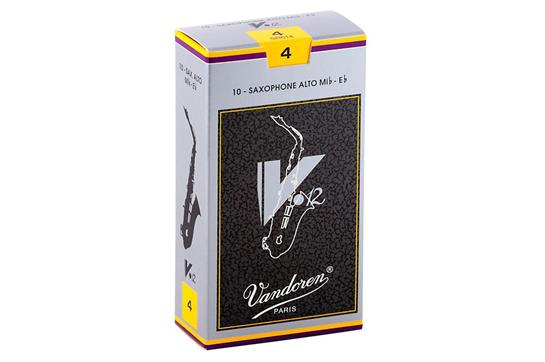 Vandoren V12 Alto Saxophone Reeds Strength 4 (Box of 10)