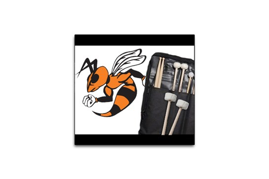 Wautoma School Stick Bag with Timpani Mallets