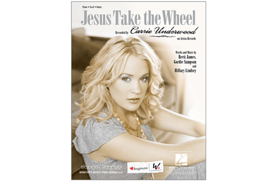 Jesus Take the Wheel (Piano Vocal)