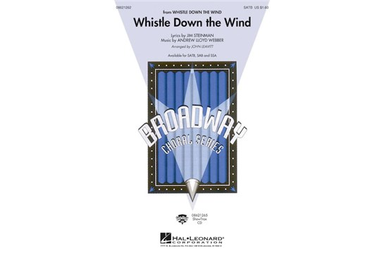 Whistle Down the Wind - SATB