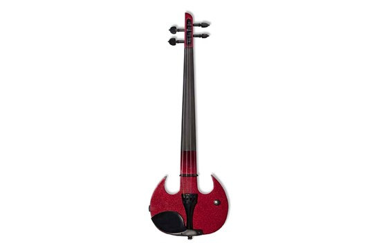 Wood Violins Stingray SVX4 4-String Electric Violin (Candy Apple Red)