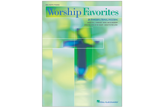 Worship Favorites (Big Note Piano)