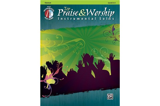 Top Praise & Worship Instrumental Solos for Clarinet
