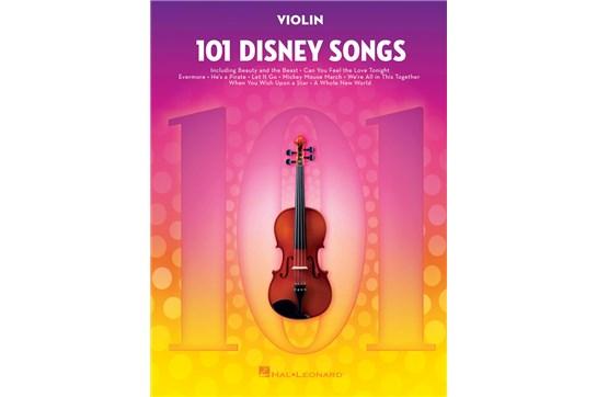 101 Disney Songs for Violin