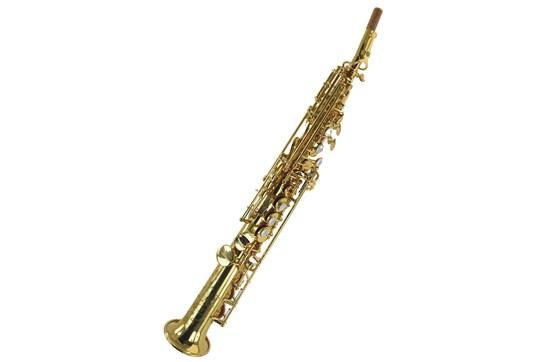 Used Jupiter JSS1100 Soprano Saxophone - Gold Lacquer