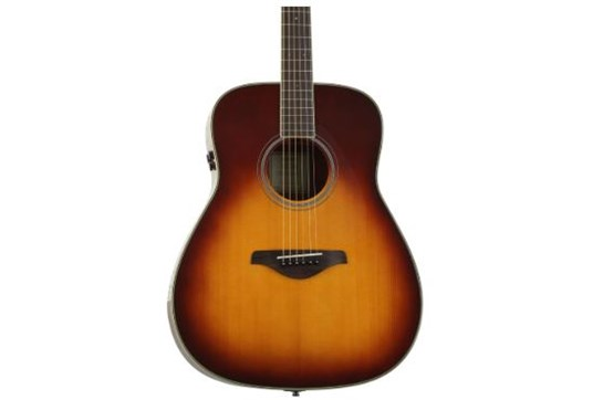 Yamaha FG TransAcoustic Guitar (Brown Sunburst)