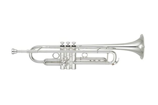Yamaha Xeno II Professional Bb Trumpet (Reverse Leadpipe/Silver)