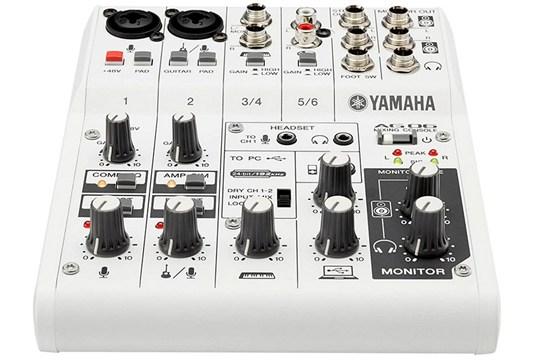 Yamaha AG06 6 Channel USB Mixer
