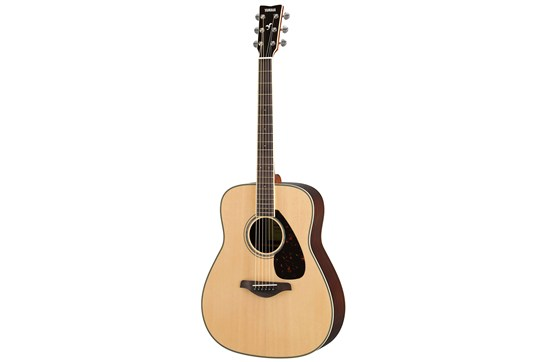 Yamaha FG830 Acoustic Guitar (Natural)
