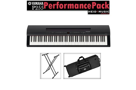 Yamaha P-255 Digital Piano Performance Pack