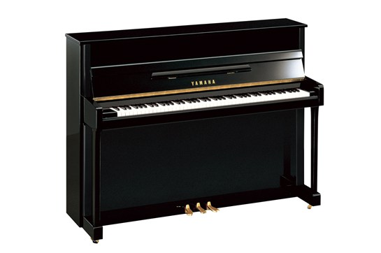 Yamaha B2 Upright Acoustic Piano (Polished Ebony)