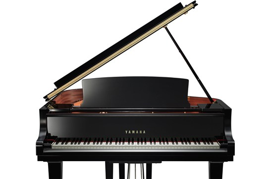 Yamaha C1X Grand Piano (Polished Ebony)