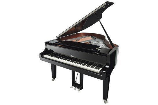 Yamaha C2X Chrome Grand Piano (Polished Ebony)
