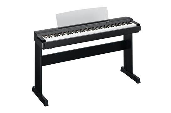 Yamaha P-255 Digital Piano with L-255 Stand (Black)