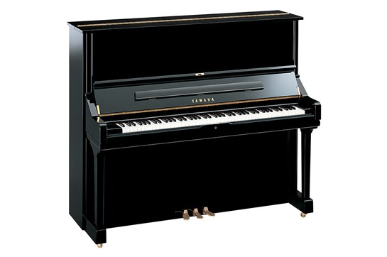 Yamaha U3 Upright Acoustic Piano (Polished Ebony)